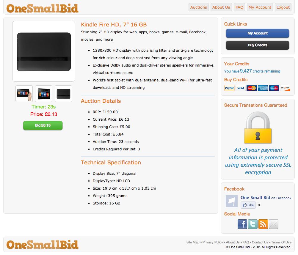 OneSmallBid-productprofile